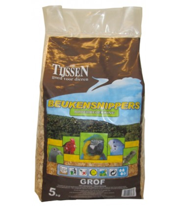 Houtsnippers 5kg Grof