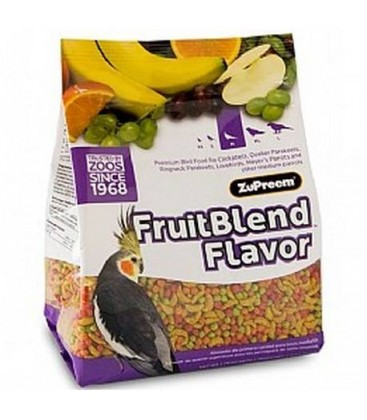 Zupreem Fruitblend Flavor Medium 900 gram