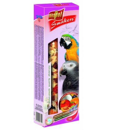 Vitapol Maxi sticks kolby fruit papegaai 450GR