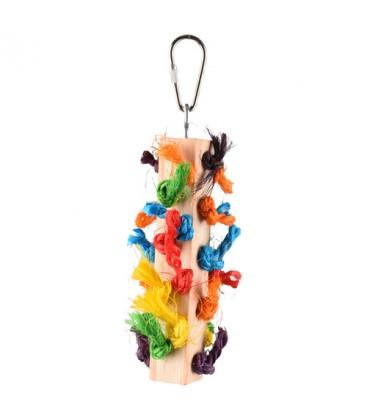 Vogelspeelgoed Rainbow Dio multi Mix 5x5x17 cm