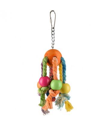 Vogelspeelgoed Rainbow Spy Multi-color 7x7x19 cm