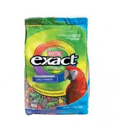 Kaytee Exact Rainbow Grote Papegaai / Ara 1130 gram.